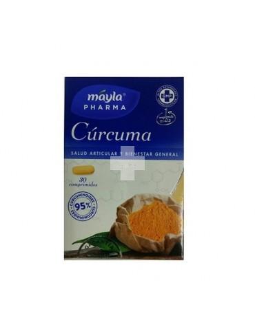 Cúrcuma 30 comprimidos bienestar articular, muscular y gástrico