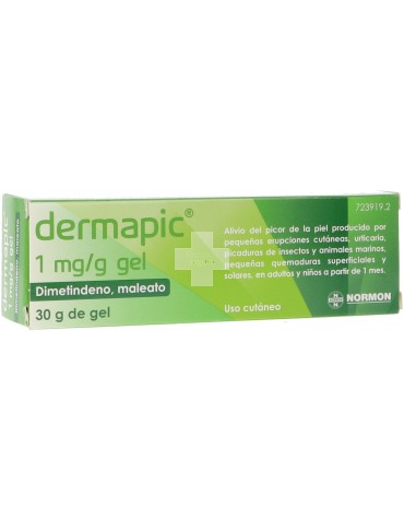 Dermapic 1 MG/G Gel 30g