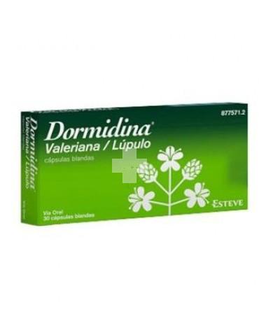 DORMIDINA VALER/LUPULA 30 CAPS