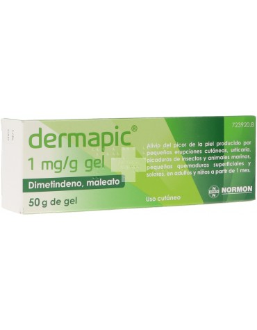 Dermapic 1 MG/G Gel 50g