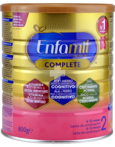 Enfamil 2 Premium 800 g Ahora Complete