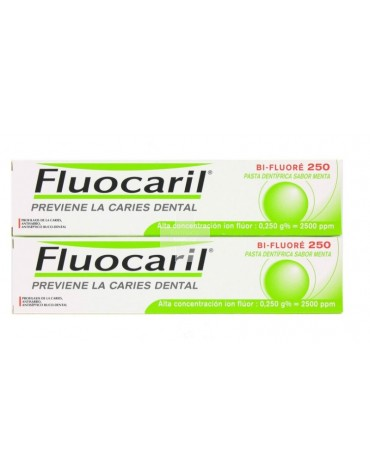 FLUOCARIL BI-FLUORE 250 DUPLO 2X125ML