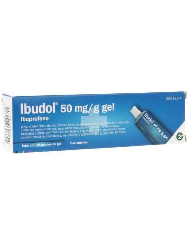 Ibudol 50 mg/g gel 30g.
