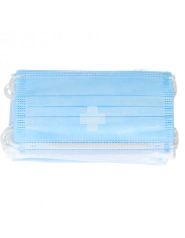 Mascarillas Quirúrgicas Azul Tipo IIR 10 Uds.