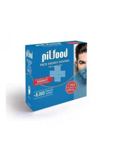 PILFOOD PACK ENERGY HOMBRE (60 COMP+CHAMPU)