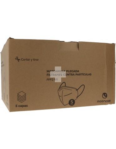 Mascarilla FFP2 Negra 100 Unidades Caja