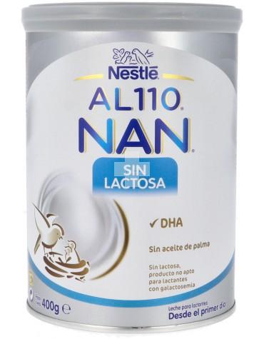 Nan AL110 Sin Lactosa 400 gr