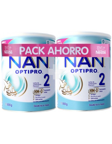 Nan 2 Optipro Pack Ahorro