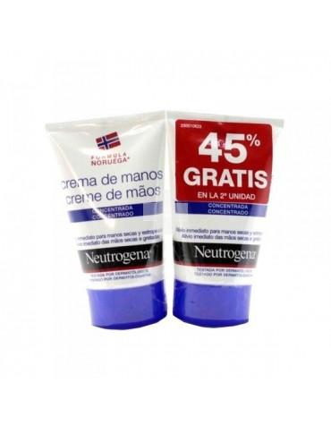 Duplo Neutrogena Crema de Manos Concentrada