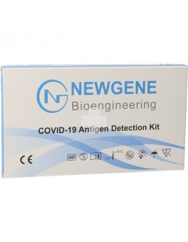 Newgene Test Antígenos Covid 19 por Fluido Oral (Saliva)
