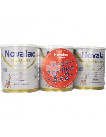 Novalac Premium 2 Pack Ahorro 3x 800 g