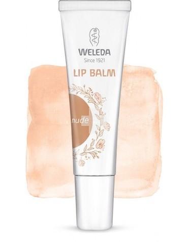 Weleda Lip Balm Nude previene de la sequedad, labios suaves e hidratados