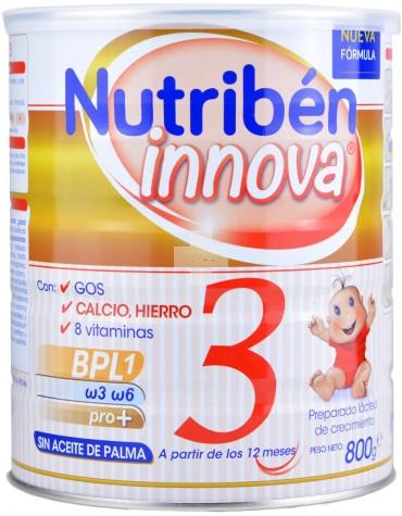 Nutriben Innova 3  800g con ácidos grasos esenciales para el crecimiento