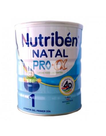 Nutribén Natal 800 g, sin aceite de palma, favorece el desarrollo del sistema inmune