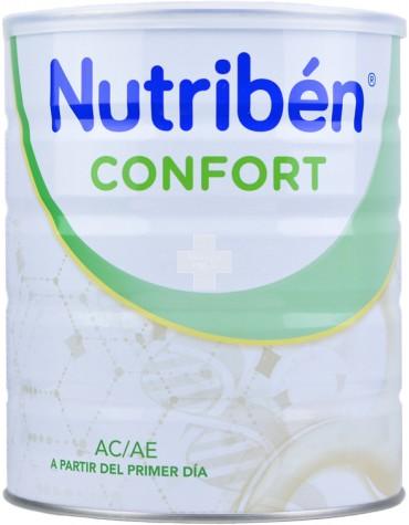 Nutriben Confort 800 g es una solución eficaz para tratar cólico o estreñimiento del bebé