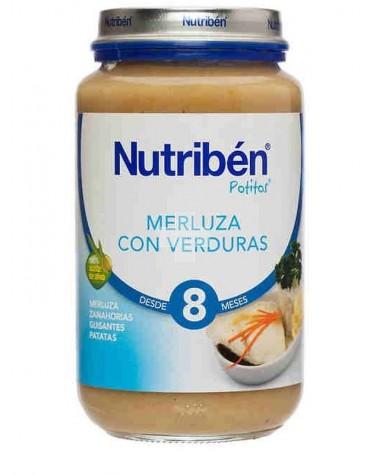 NUTRIBEN MERLUZA CON VERDURAS 235 G
