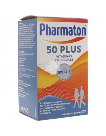 Pharmaton 50 Plus 60 Cápsulas Blandas