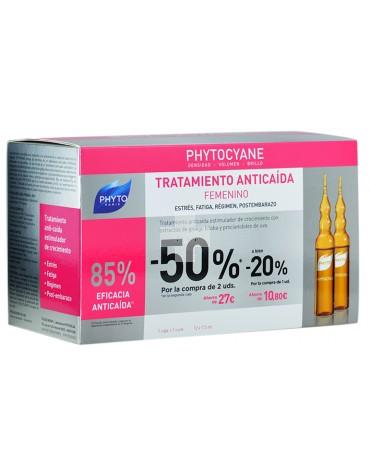 Phyto Phytocyane Tratamiento Anticaída Femenino