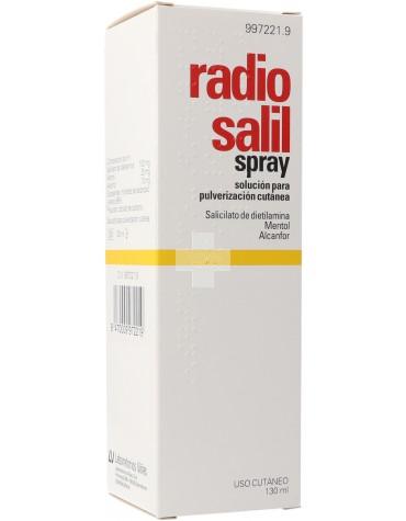 Radio Salil Spray Solución Para Pulverización Cutanea.