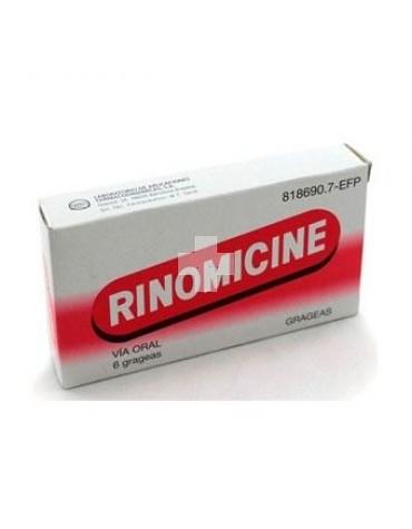 RINOMICINE COMPRIMIDOS RECUBIERTOS