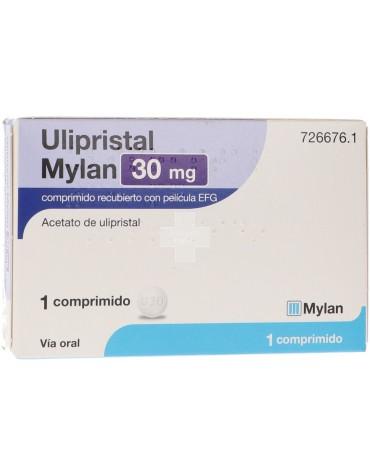 Ulipristal Mylan 30 mg 1 Comprimido