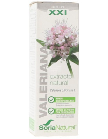 Valeriana Soria Natural Gotas