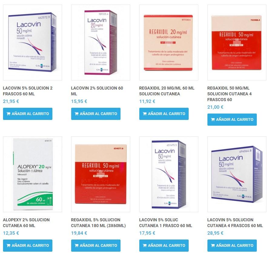 Blog - Comprar minoxidil 5 online en farmacia online de España